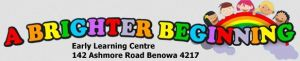 A Brighter Beginning Benowa - Child Care Sydney