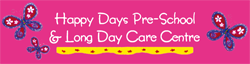 Happy Days Pre-School  Long Day Care Centre - Child Care Sydney